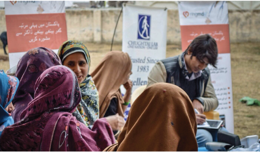 Empowering Women in Pakistan by providing access to healthcare